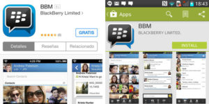 Play Store Blackberry
