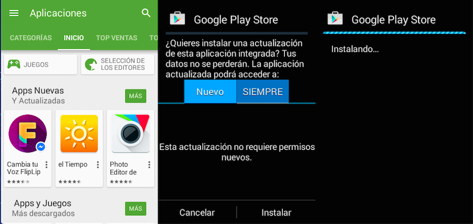 Play store 5.4.12-apk