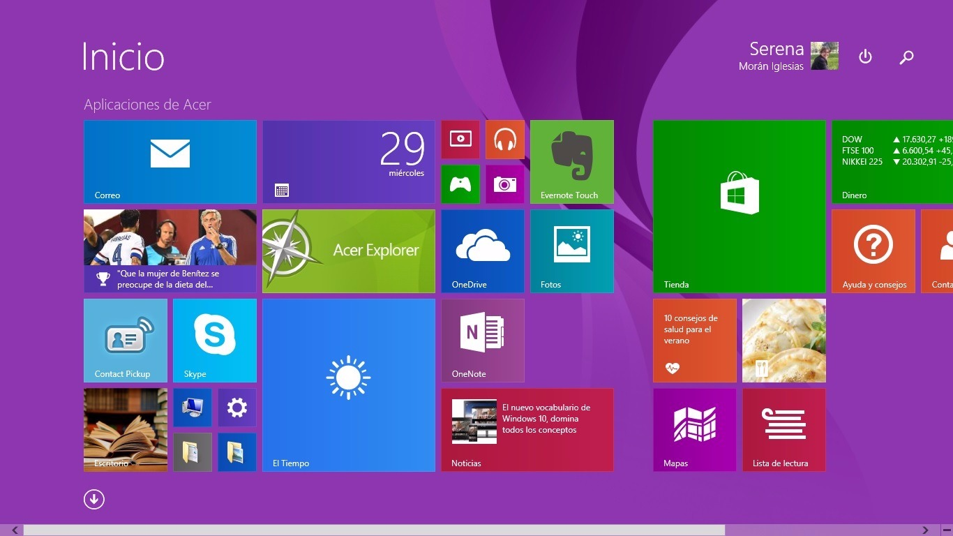 fondo escritorio windows 8