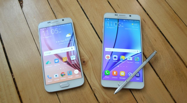 Galaxy S6 vs Galaxy Note 5