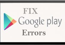 Google Play-Store Error