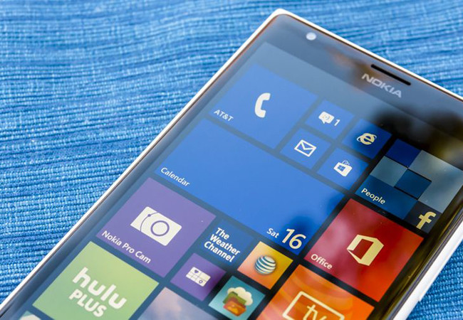Microsoft Lumia Windows 10 Mobile