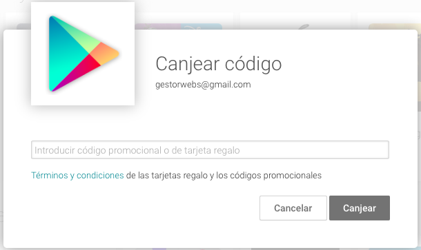 canjear playstore
