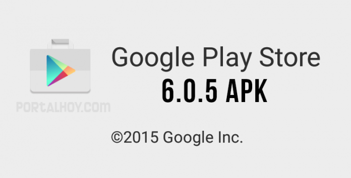 Play Store 6.0.5