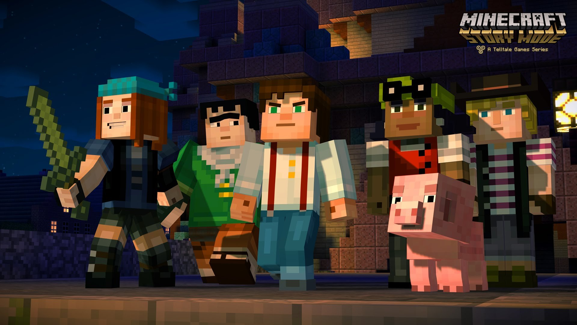 Minecraft: Story Mode Juego