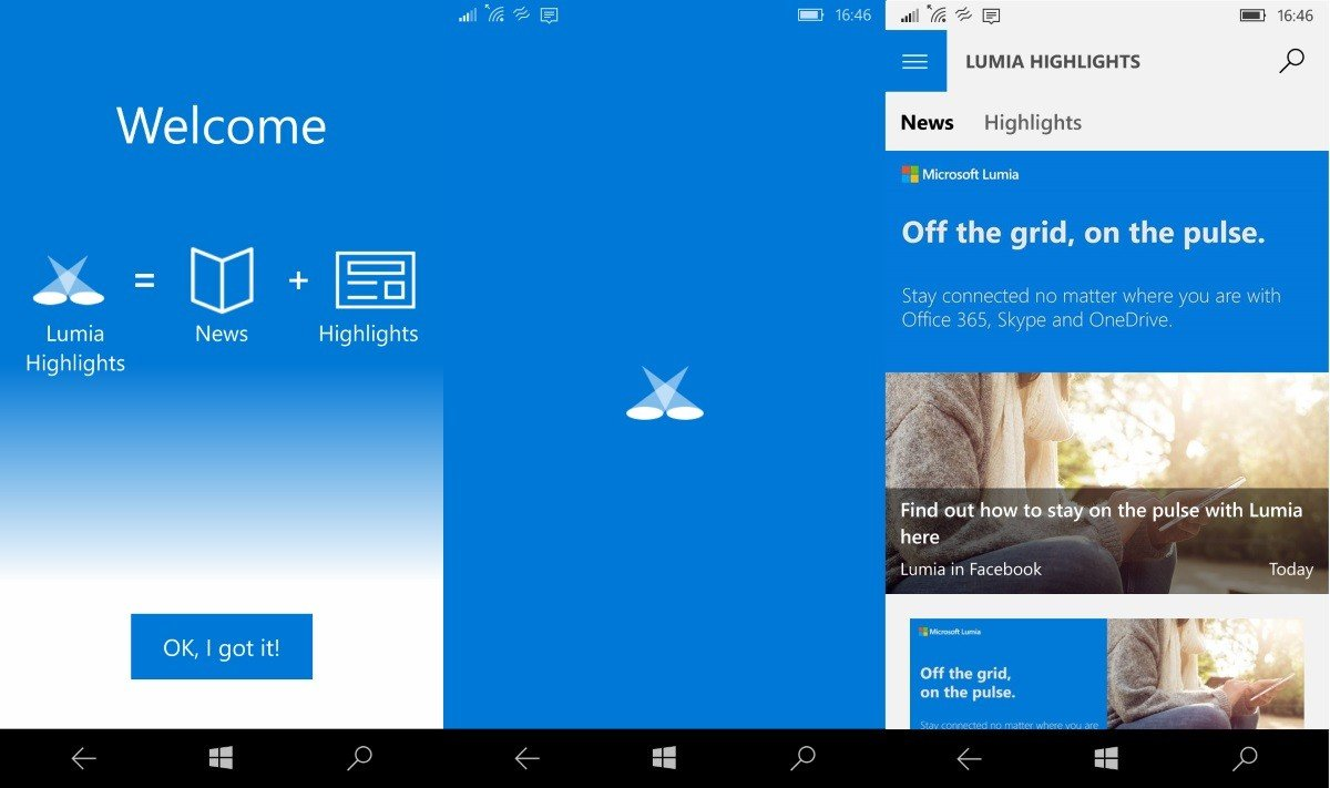 Microsofr Lumia Highlights