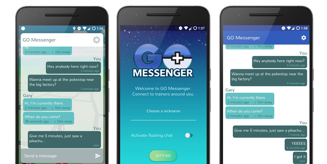 Pokémon GO Messenger Android