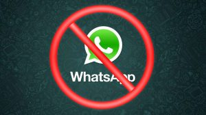 NO WhatsApp